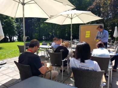 Diskussionsrunden in kleinen Gruppen bestimmten den Tag